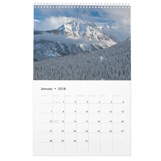 The Untamed West Calendar