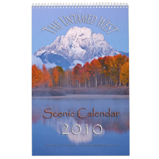 The Untamed West Calendar