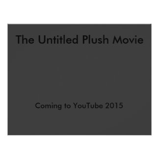 The Untitled Plush Movie Flyer Flyers