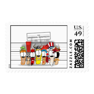 The Unusual Suspects Postage