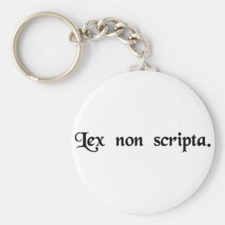 The unwritten law. key chains