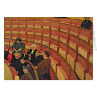 The Upper Circle at the Theatre du Chatelet Cards