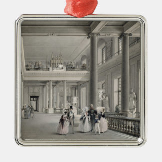 The Upper Entrance hall of the Fine Arts Academy Christmas Ornaments
