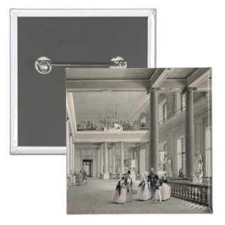 The Upper Entrance hall of the Fine Arts Academy Pinback Button