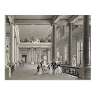 The Upper Entrance hall of the Fine Arts Academy Postcard