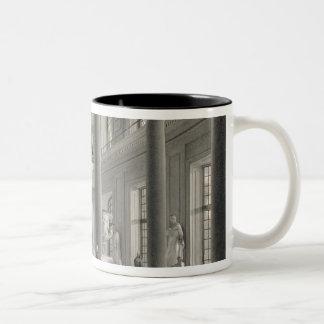 The Upper Entrance hall of the Fine Arts Academy Two-Tone Coffee Mug