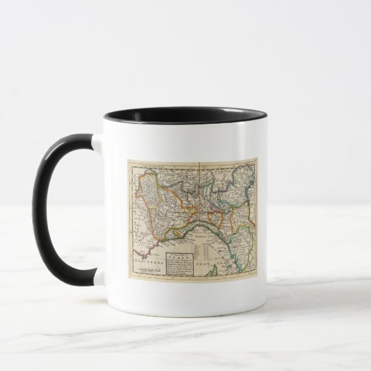 The upper part of Italy Mug