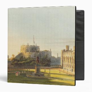 The Upper Ward, Windsor Castle, from 'Royal Reside Binder