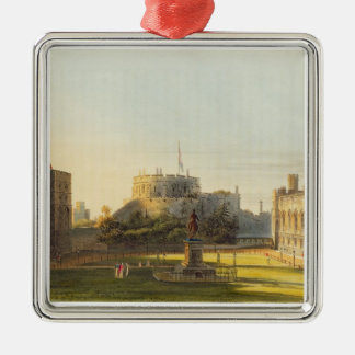 The Upper Ward, Windsor Castle, from 'Royal Reside Metal Ornament