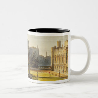 The Upper Ward, Windsor Castle, from 'Royal Reside Two-Tone Coffee Mug
