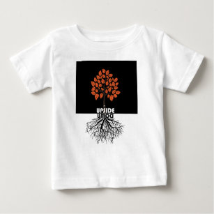 Upside Down Baby Tops T Shirts Zazzle
