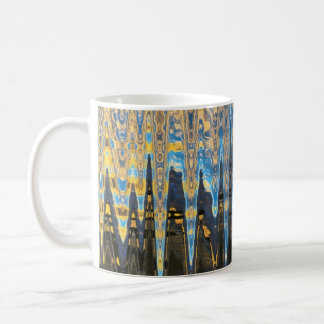 The Urban Jungle - Abstract Landscape Coffee Mug