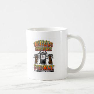 The Urban Shooter PODCAST Classic White Coffee Mug