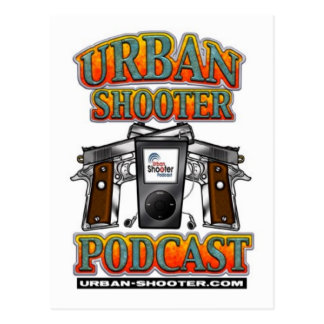 The Urban Shooter PODCAST Postcard