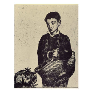 The urchin by Edouard Manet Post Cards