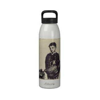 The urchin by Edouard Manet Reusable Water Bottles