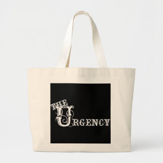 the urgency large tote bag