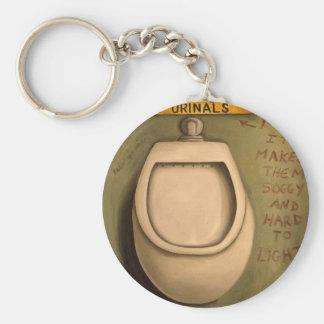 The Urinal Keychain