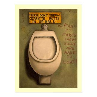 The Urinal Postcard