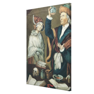 The Urine Examination Canvas Print