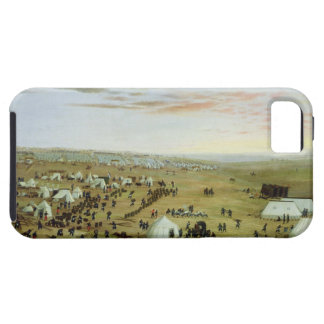 The Uruguaiana Camp, Rio Grande, Brazil, 1865 (oil iPhone SE/5/5s Case