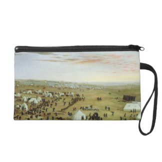 The Uruguaiana Camp, Rio Grande, Brazil, 1865 (oil Wristlet