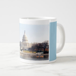 The US Capital, Washington, DC Large Coffee Mug