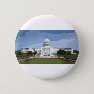 The US Capitol Building Button