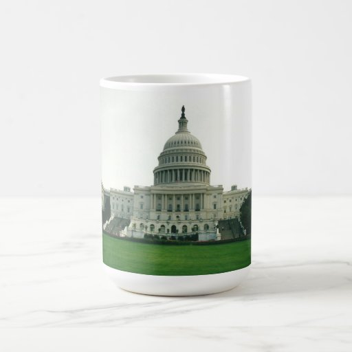 The US Capitol Building Coffee Mug