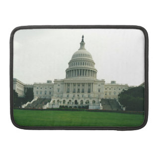 The US Capitol Building Sleeve For MacBooks