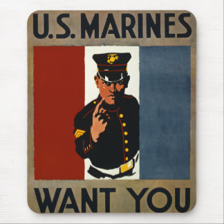 The US Marines Want You Mouse Pad