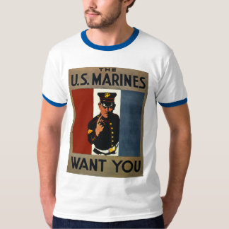 The US Marines Want You T-Shirt