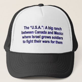 The USA a big ranch Trucker Hat