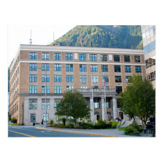 The USA - Alaska - Juneau - Capital State Building Postcard