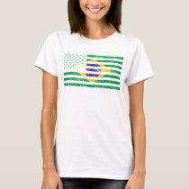 The USA Brazil America T-Shirt