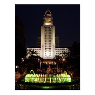 The USA - California - Los Angeles - City Hall Postcard