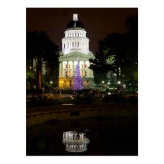 The USA - California - Sacramento - State Capitol Postcard