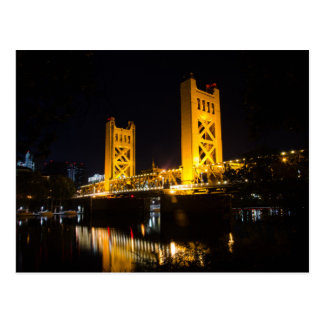 The USA - California - Sacramento - Tower Bridge Postcard