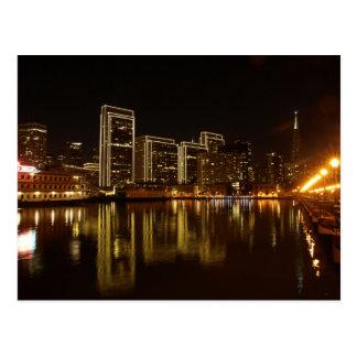 The USA - California - San Francisco - City Skylin Postcard