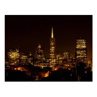 The USA - California - San Francisco - Telegraph H Postcard