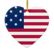 The USA Ceramic Ornament