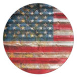 THE USA FLAG PARTY PLATE