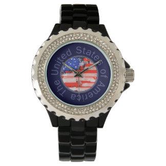 the USA hour Wristwatch