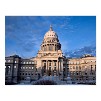 The USA - Idaho - Timbers - State Capitol Postcard