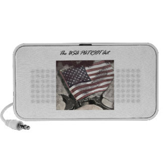The USA Patriot Act Laptop Speakers