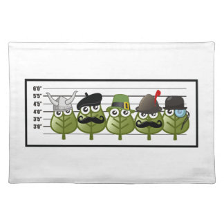 The Usual Genealogy Suspects Cloth Placemat