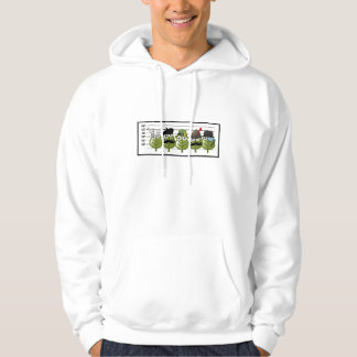 The Usual Genealogy Suspects Hooded Pullover
