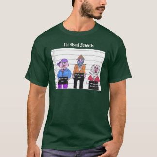 The Usual Suspects, Christmas T-Shirt