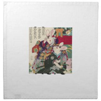 The Utagawa 芳 rattan, 'can flat the original Napkin