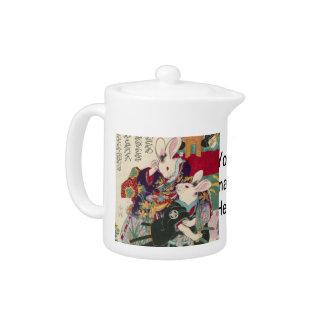 The Utagawa 芳 rattan, 'can flat the original Teapot